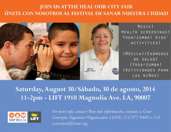 CD1 Health Fair Flier