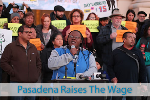 Big Pasadena Raise the Wage Image for Homepage